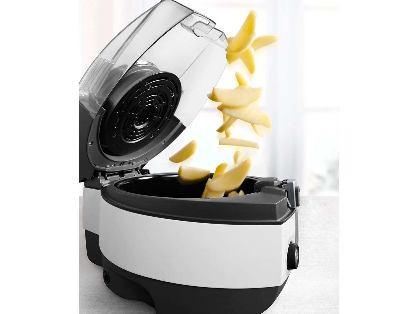 DeLonghi Low-Oil air fryer and Multicooker Extra Chef FH1394