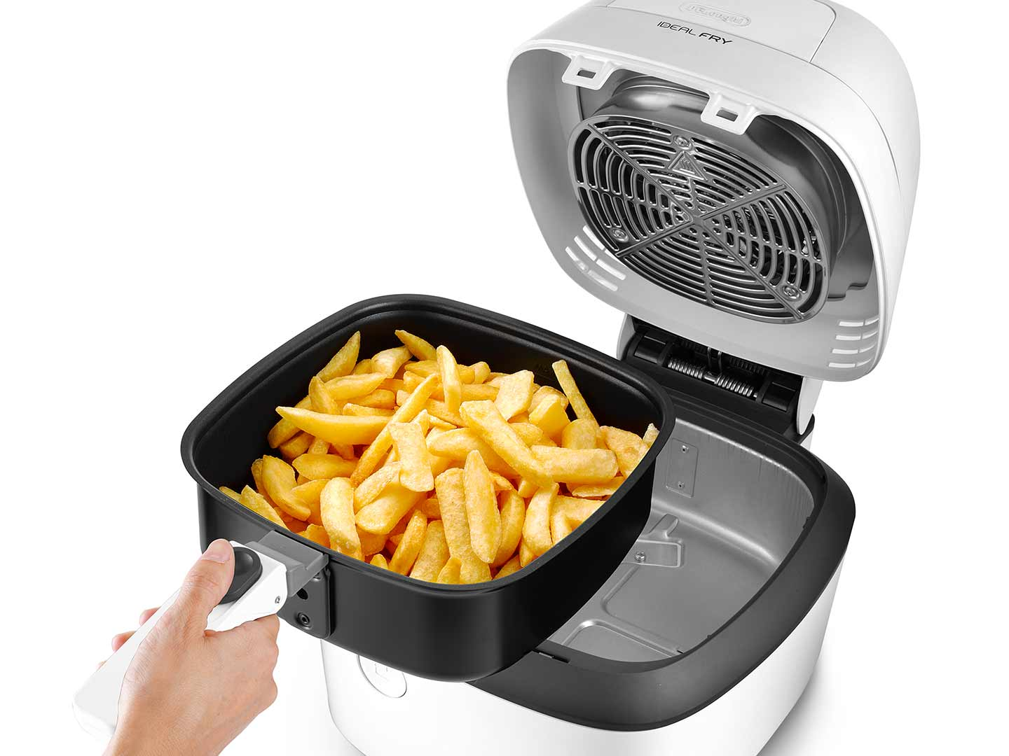 Low-oil fryer multicooker