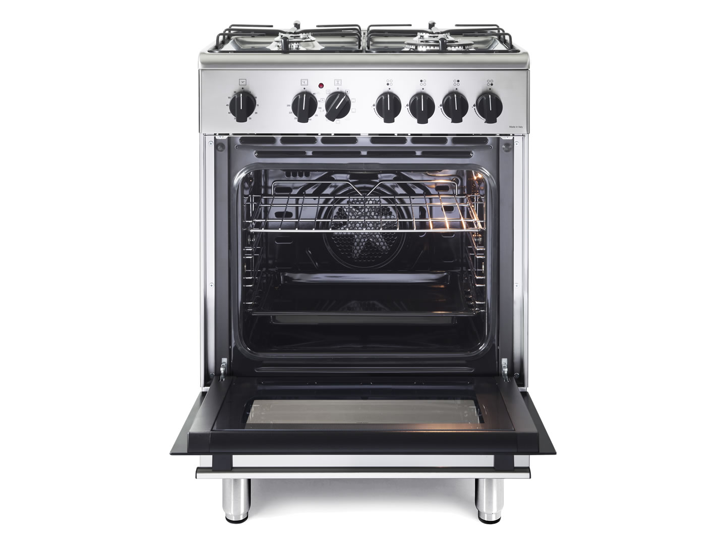 60cm Lifestyle Dual Fuel Freestanding Oven - DEFL605G