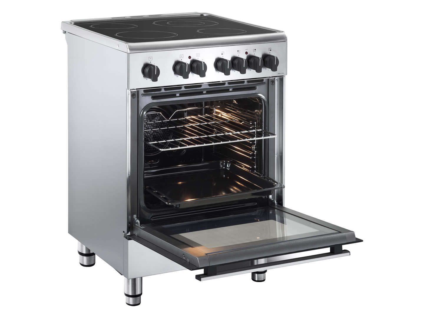 60cm Lifestyle Electric Freestanding Oven - DEFL605E