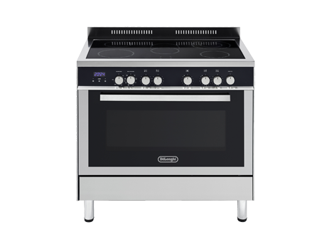 Freestanding Oven With Induction Cooktop Def909ind