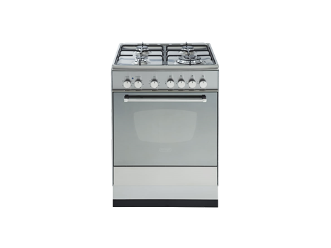 Freestanding Electric Oven with Gas Cooktop - 60cm DE61GW
