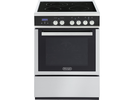 Factory Second: Freestanding 60cm Oven with Electric Cooktop - DEF608E