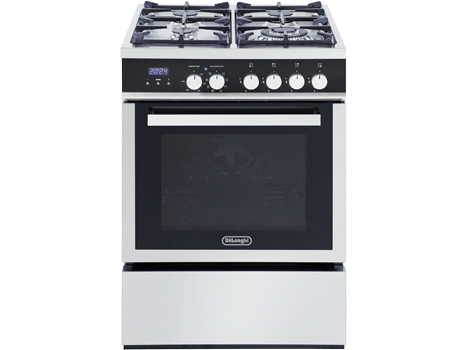 Factory Second: Freestanding 60cm Oven with Gas Cooktop - DEF608GW