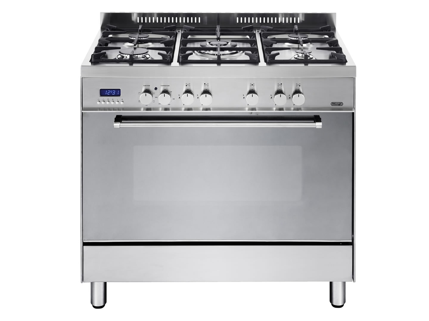 High Quality Freestanding Oven With Gas Cooktop And Wok Burner DEF905GW1X1