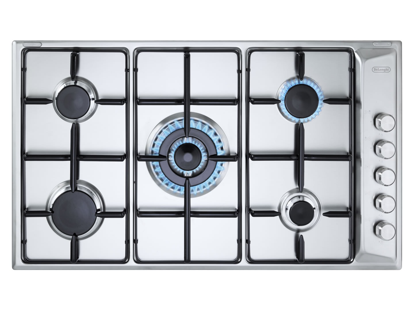 5 Burner 90cm Gas Cooktop - DEGH90STF