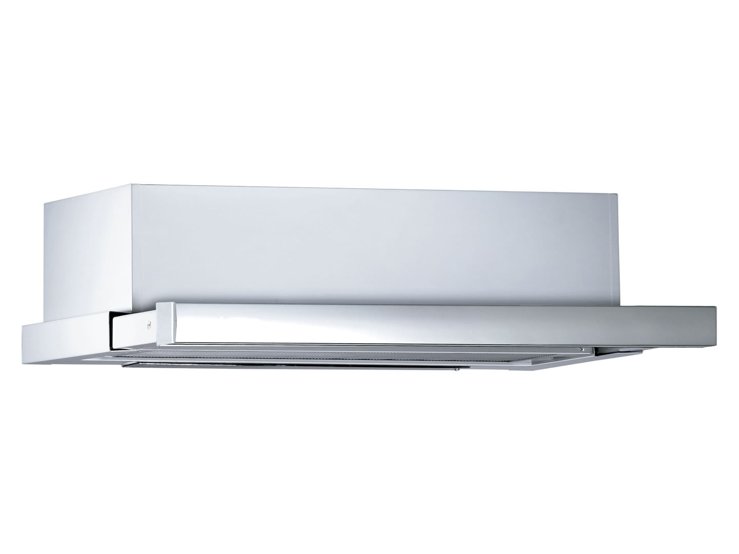 DeLonghi Slideout Rangehood 60cm Stainless Steel Front Recirculating TAFR60S