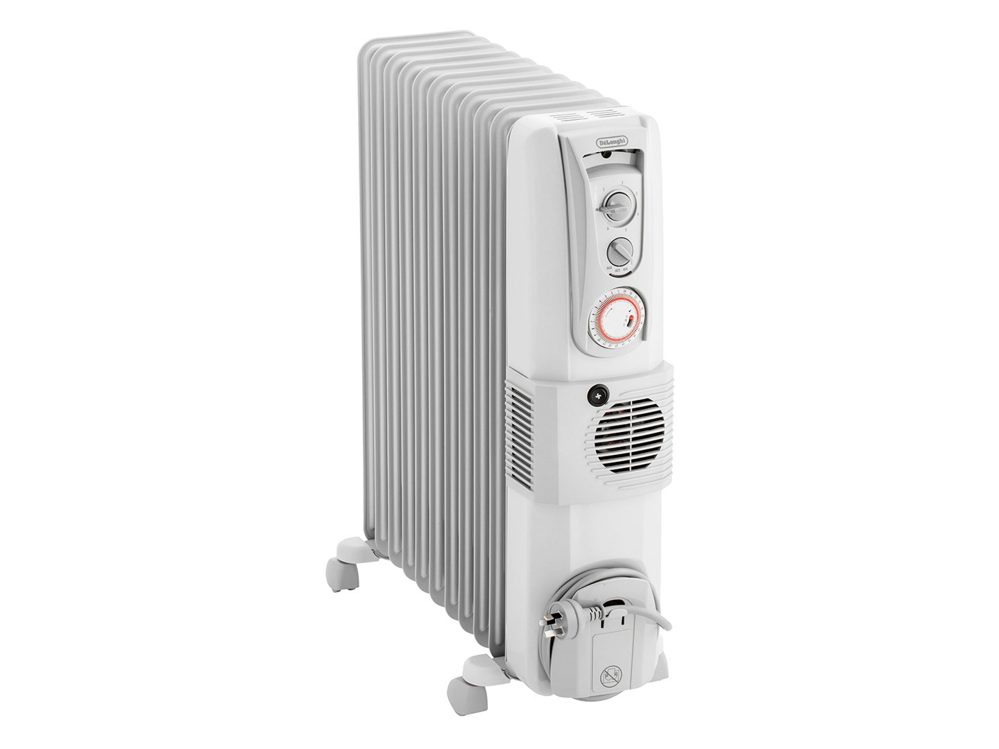 Dl 2401tf 2400w Oil Column Heater With Fan Delonghi