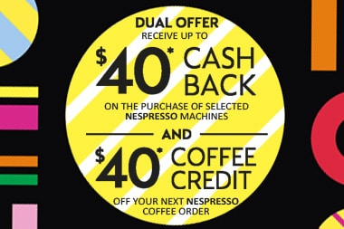 Cashback rates are subject to change and may increase or decrease at any time More about Nespresso From its beginning in , Nespresso has redefined and revolutionised the way millions of people enjoy their espresso coffee.