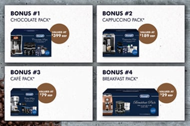 Bonus Coffee Accessory Packs