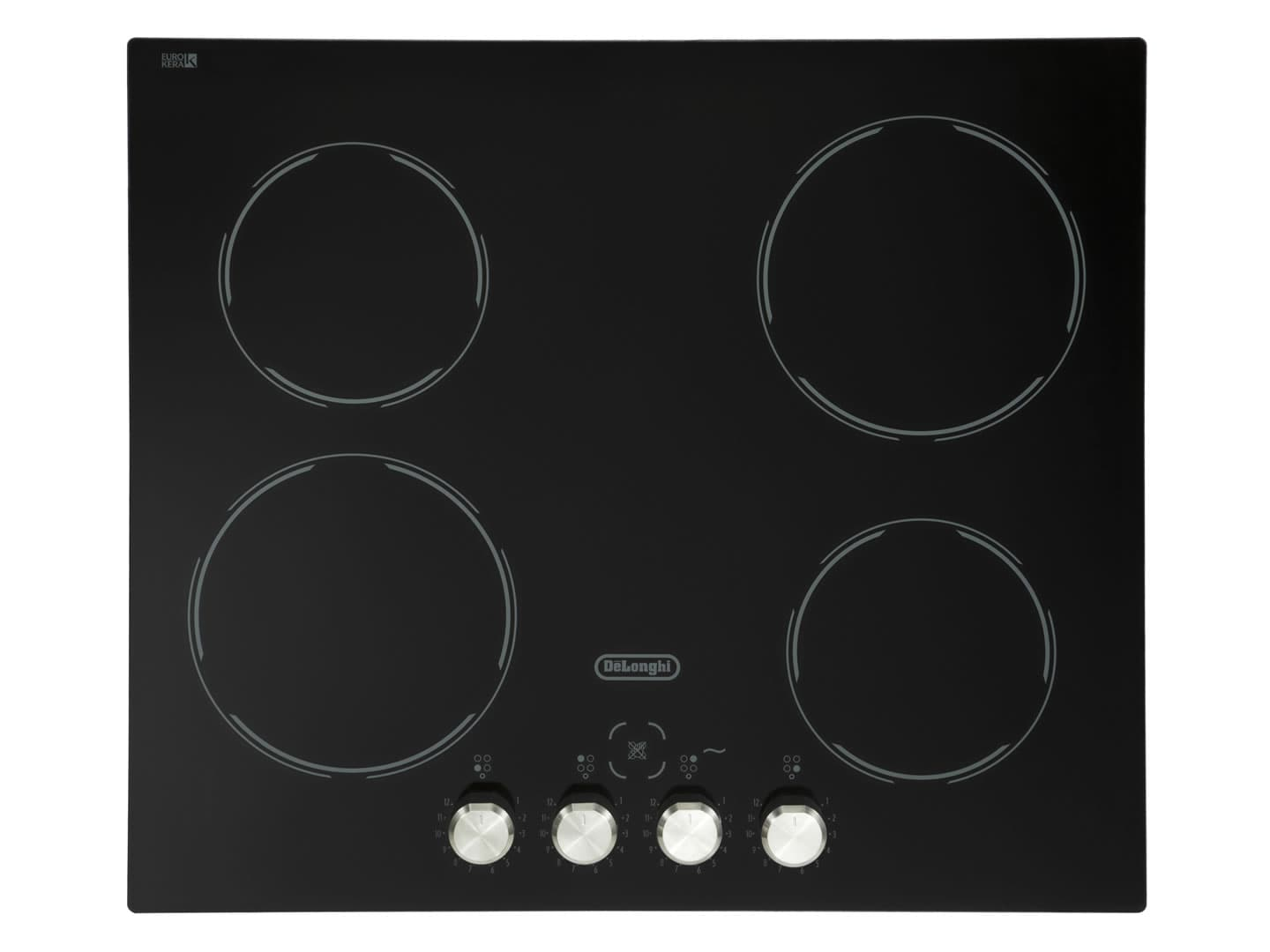 60cm 4 Zone Black Glass Ceramic Cooktop DECH60SX1