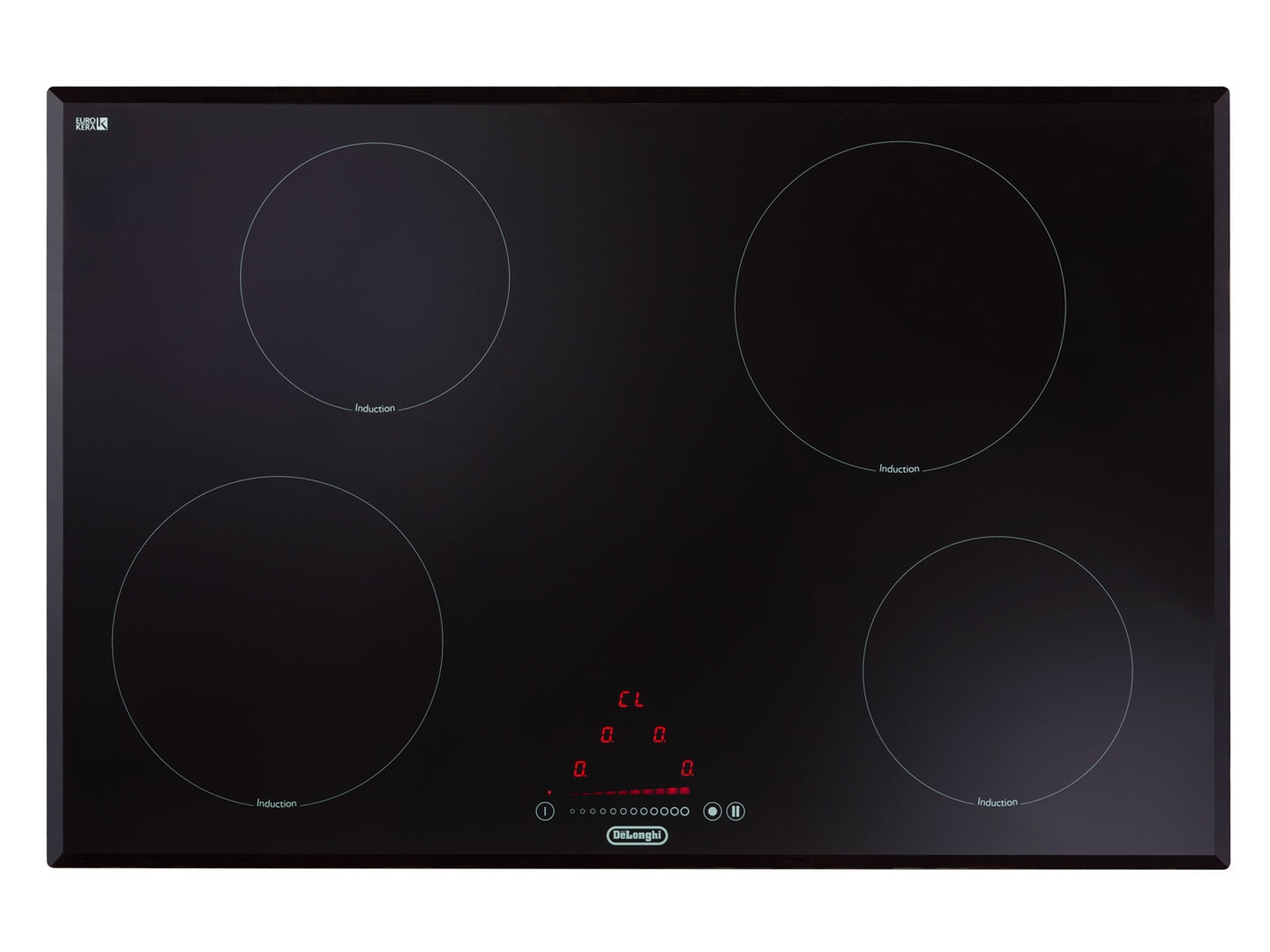 4 zone induction cooktop ceramic deind804