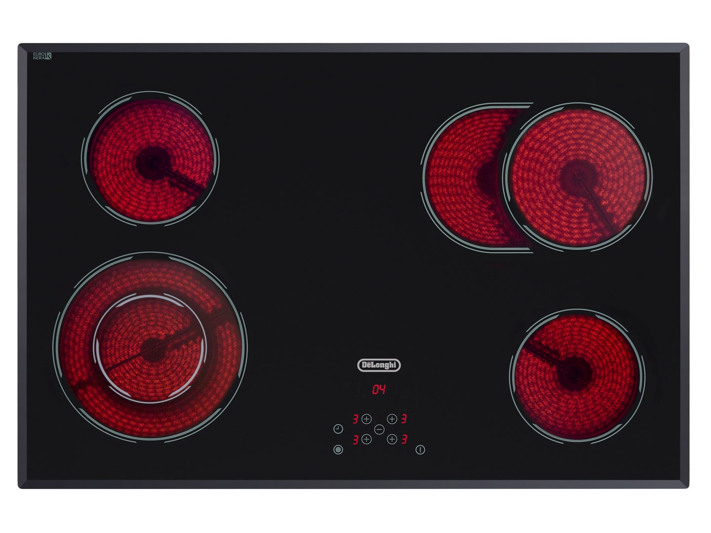 4 Burner Ceramic Electric Cooktop - 80cm DTCH80B