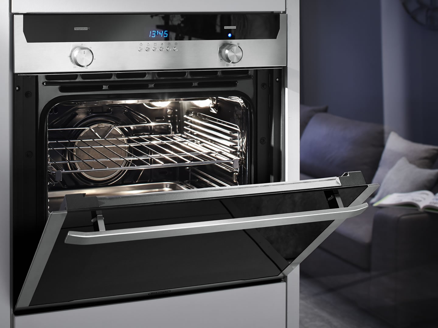 60cm 7 Function Built In Lifestyle Oven DEL607M  Lifestyle