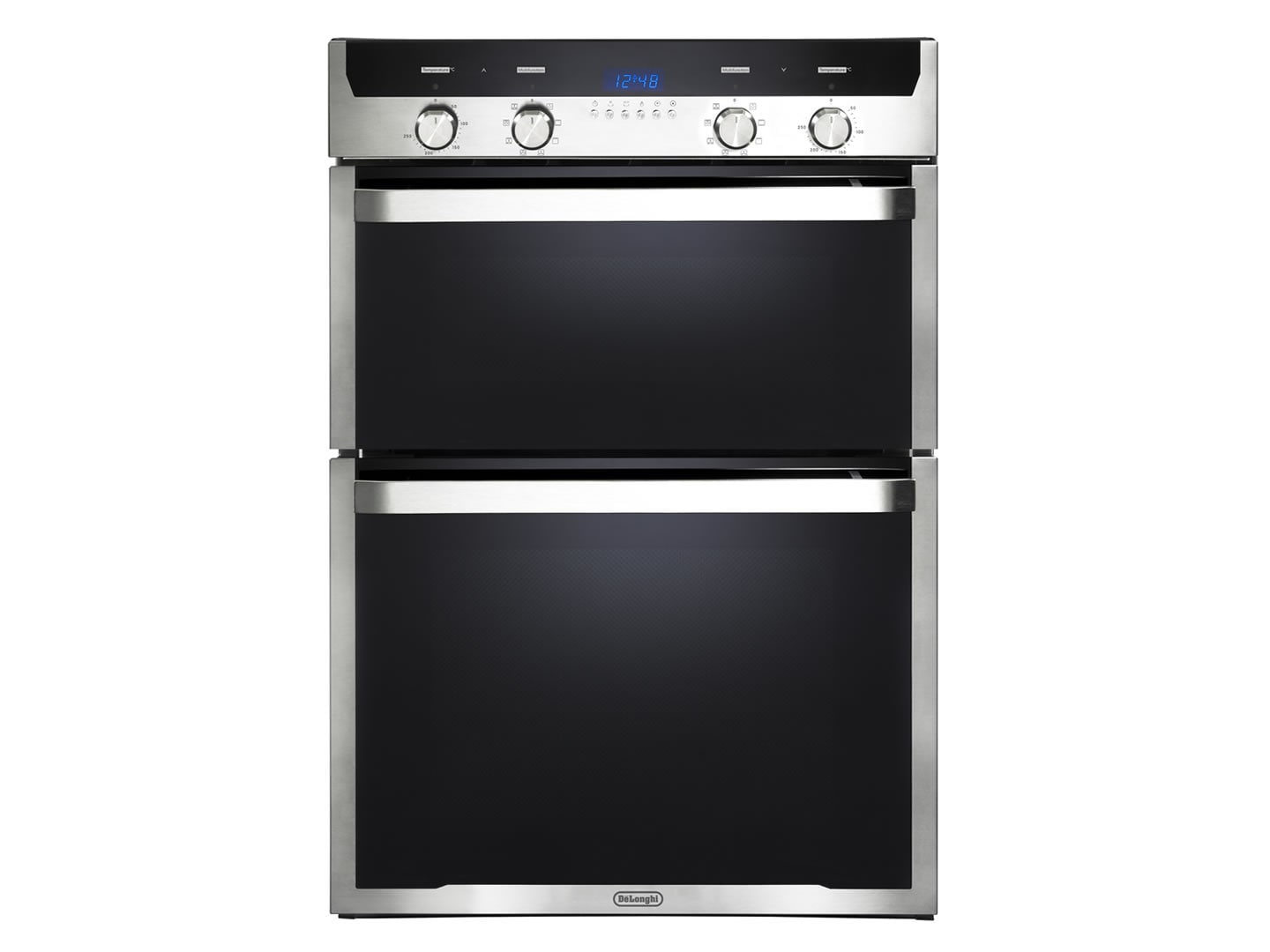 60cm multi function double wall oven del6038d