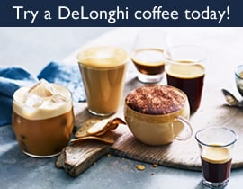 Try a DeLonghi coffee today!