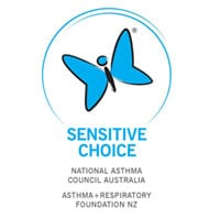 sensitive choice for asthma logo