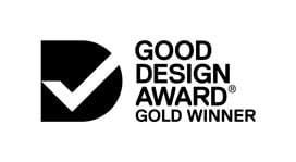Good Design Gold Award Winner!
