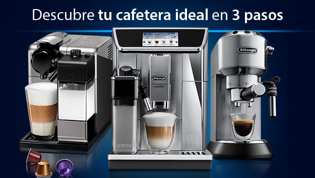 tu cafetera ideal delonghi