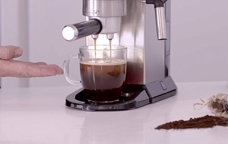 Making the perfect Americano