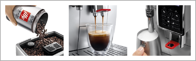 DeLonghi for Illy