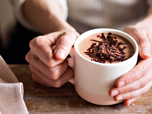 Spicy hot cacao drink