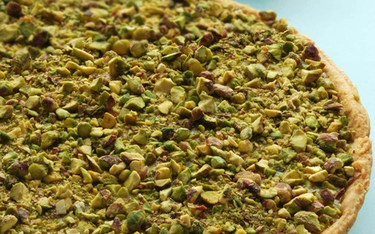 ALMOND AND PISTACHIO TART