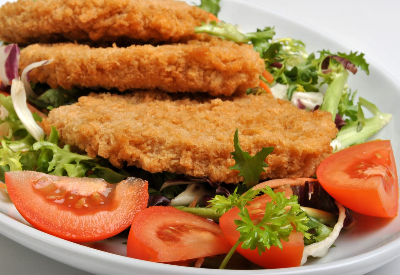 breaded swordfish
