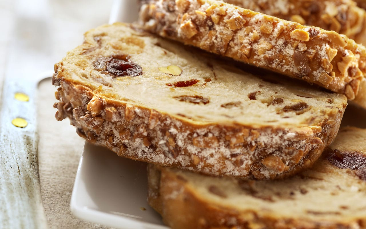 Bread with seeds and nuts