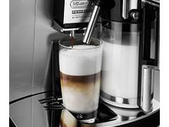 AUTOMATIC CAPPUCCINO, CAFFELATTE, LATTE MACCHIATO, AND MILK BUTTONS