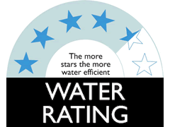 4.5 Star WELS Water Rating