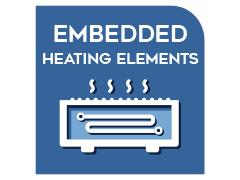 Embedded heating elements