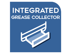 Integrated grease collector