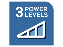 3 power levels