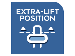 EXTRA-LIFT POSITION