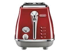 DeLonghi Icona Capitals 2 Slice Toaster - Tokyo Red CTOC 2003.R