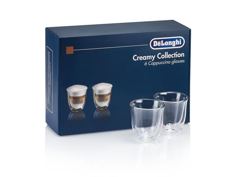 Creamy Collection - Set of 6 Cappuccino Glasses