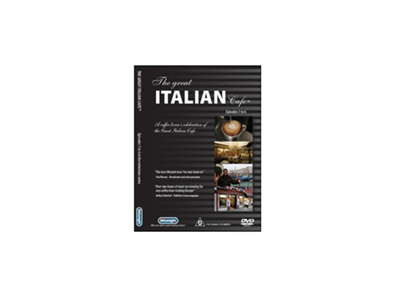 "DVD ""The Great Italian Café"""