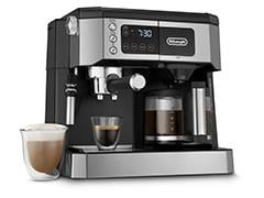 All-in-One Coffee & Espresso Maker, Cappuccino, Latte Machine + Advanced Adjustable Milk Frother - COM532M