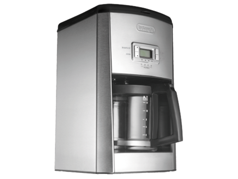 Drip Coffee Maker With Timer : De Longhi DCF514T Drip Coffee Maker: Up to 14 Cups