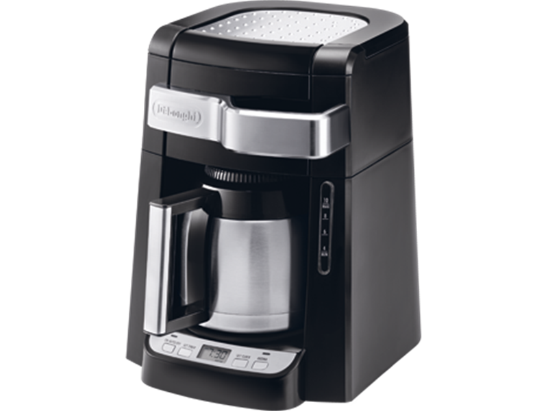 Drip Coffee Maker With Timer : Drip Coffee Maker - 10 Cup - DCF 2210TTC De Longhi CA