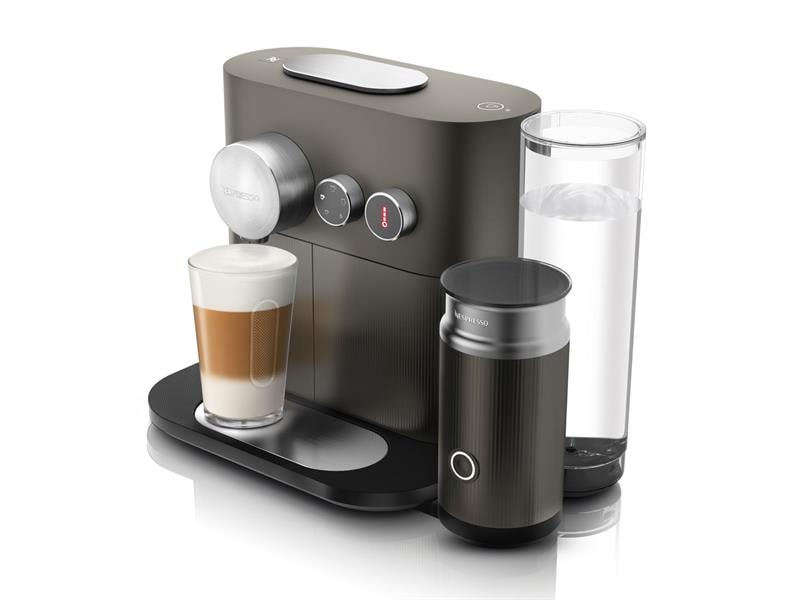 kapselmaschine nespresso expert milk en 355 gae de 39 longhi. Black Bedroom Furniture Sets. Home Design Ideas