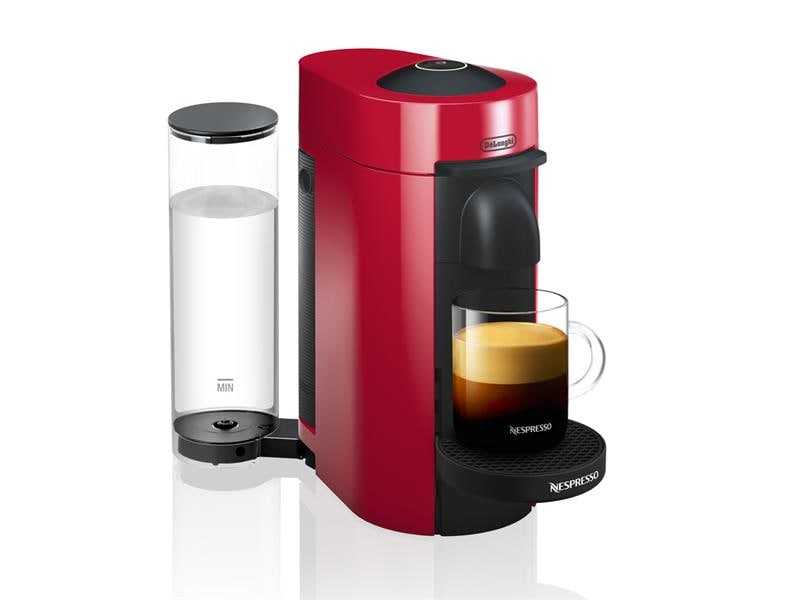 nespresso vertuo plus coffee and espresso machine by de 39 longhi red env150r de 39 longhi us. Black Bedroom Furniture Sets. Home Design Ideas