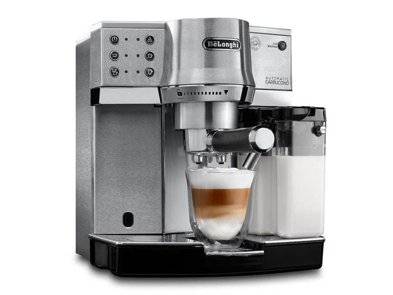 Dedica Manual Espresso Machine, Cappuccino Maker -  - EC 860.M