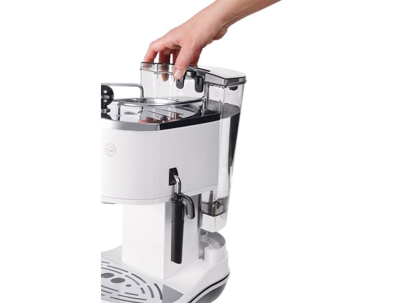 Icona Manual Espresso Machine - White - ECO 310.W