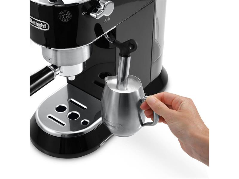 Dedica Manual Espresso Machine - Black - EC - 680.BK