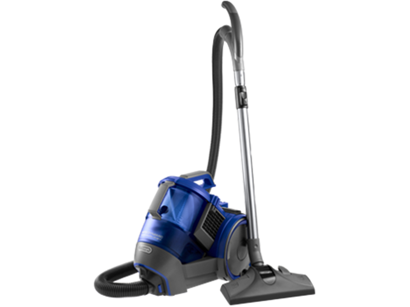 Roatating bagless vacuum cleaner