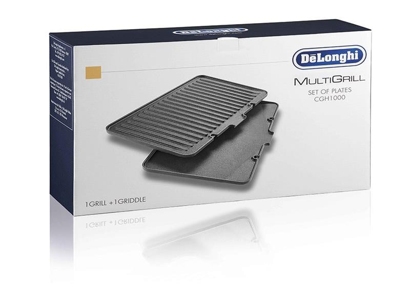 MultiGrill Accessory: Set of 1 grill + 1 griddle plate - DLSK150