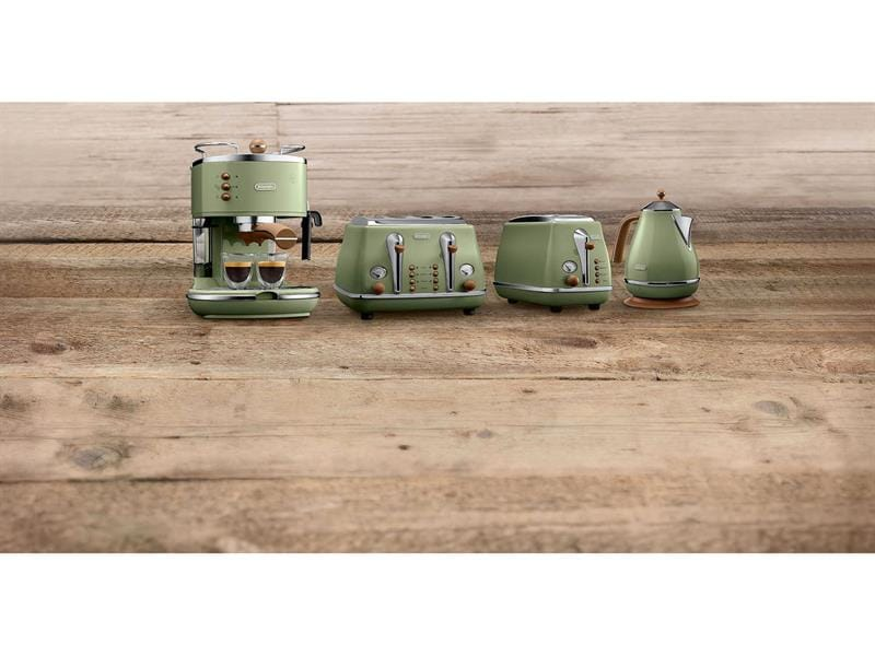 Icona Vintage Kettle - Green - KBOV 2001.GR