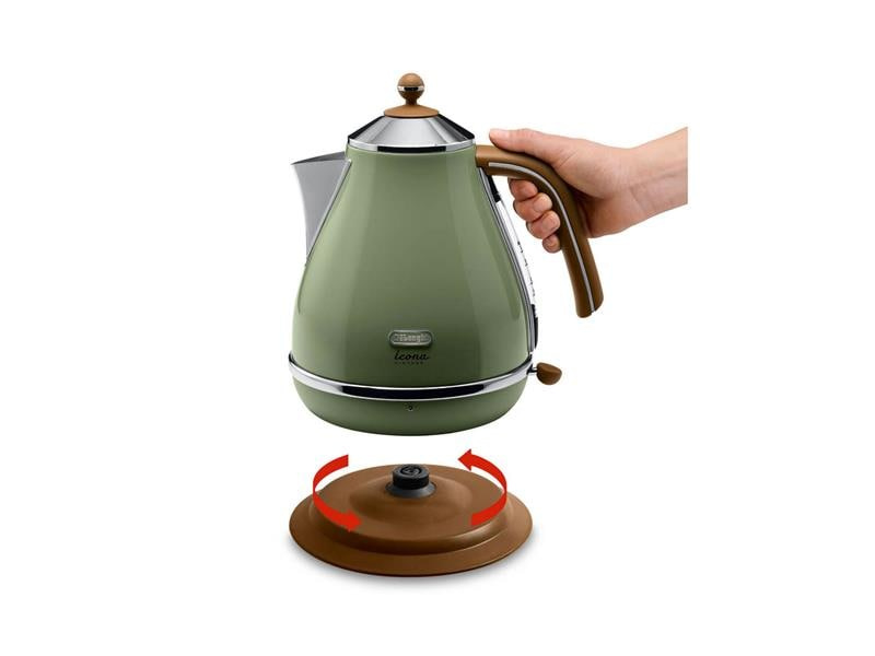 Icona Vintage Green Kettle - KBOV2001GR